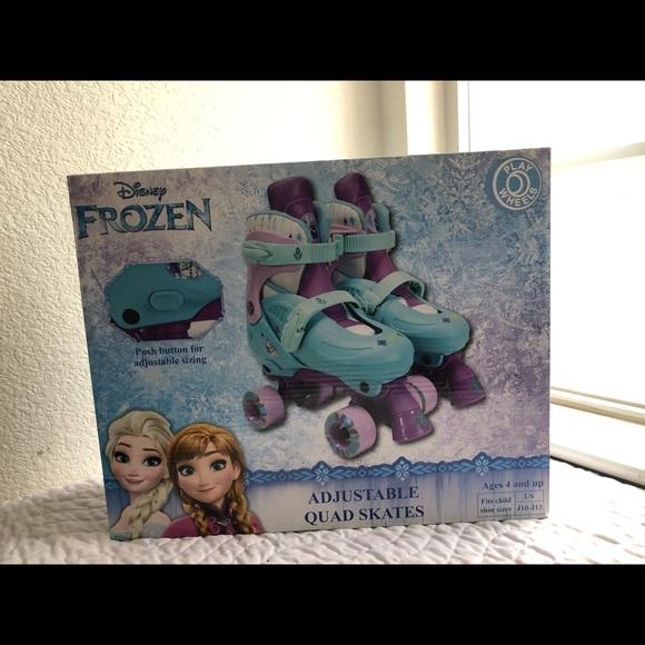 Disney Frozen Adjustable Quad Skates